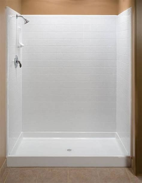 Fiberglass Shower Units by 25 Best Ideas About Fiberglass Shower Enclosures On