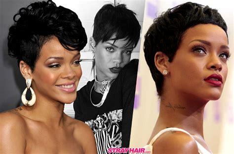 Rihannas Many Great Short Hairstyles