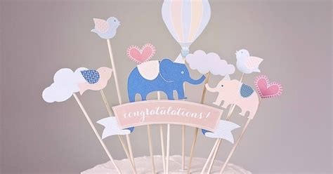 mix and match diy cake toppers