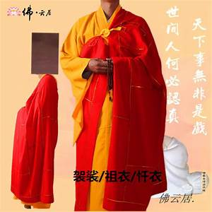 buddhist cassock hai qing robe clothes buddhist monk With robe moine bouddhiste