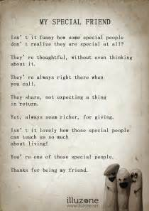 My Special Friend Quotes