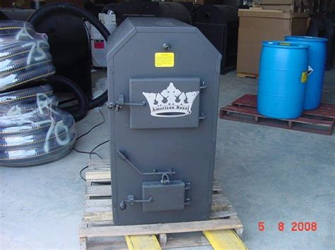 forced air wood stove outdoor forced air wood furnace