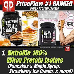 What U0026 39 S The Best Whey Protein Isolate  Priceplow U0026 39 S Top 5 Powders
