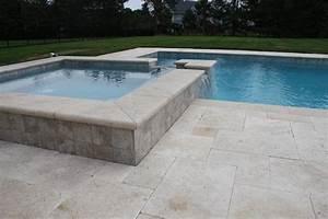 Margelle Pour Piscine : margelle de piscine en pierre naturelle v ritable ~ Melissatoandfro.com Idées de Décoration