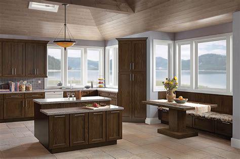 kraftmaid cabinets purchase oak kitchen in saddle kraftmaid