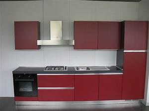 Cucina Rosso Rubino Cucine a prezzi scontati