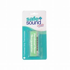 Safety First Forehead Thermometer Instructions