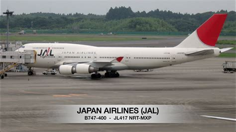 Japan Airlines Jal B Tokyo Nrt Milan Mxp Trip Report Full Flight Youtube