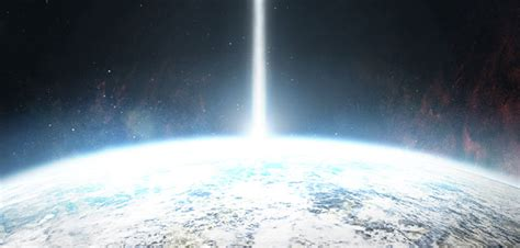 seeing flashes of white light spiritual mysterious unidentified light beams and light flashes