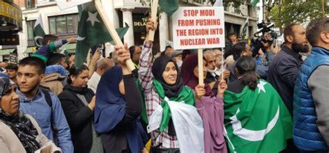 Thousands protest against brutal clampdown of Kashmiri ...