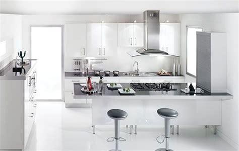 cuisine brillante cuisine sealise blanc brillant