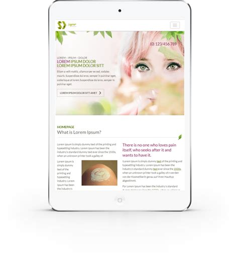 spa  massages friendly html template
