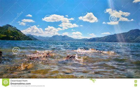 travel laut tawar stock image image  location aceh