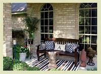 interesting front patio decor ideas Outdoor Decor: 14 Casual, Comfy Front Porch Ideas | HuffPost