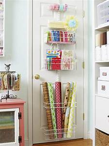 Maximizing Small Craft Room Storage Using Mounted Craft
