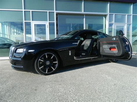 Rolls Royce Limited Edition by Rolls Royce Wraith Carbon Fiber Limited Edition Launched