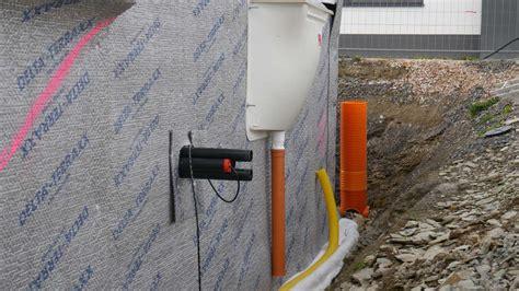 drainage hauswand aufbau drainage hauswand aufbau tipp keller abdichtung gegen feuchtigkeit hier ist die wichtigste