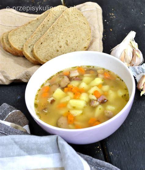 Zupa ziemniaczana - kartoflanka | Food, Dinner, Lunch
