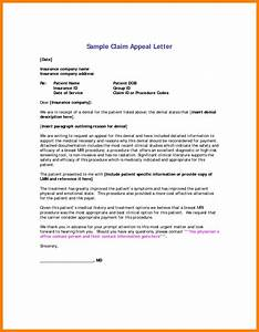 Insurance appeal letter sample articleezinedirectory for Insurance denial appeal letter template