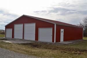metal barns steel pole barns barn prices With barn tin prices