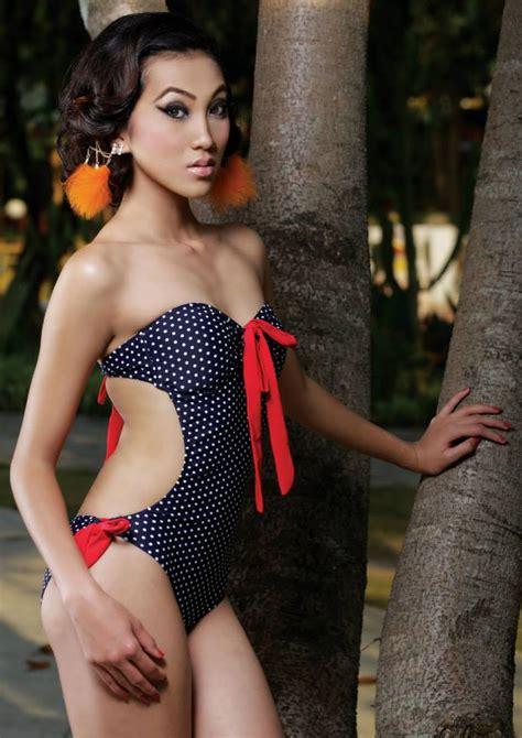 paramita rana  swimsuit  wave magazine nepalfm