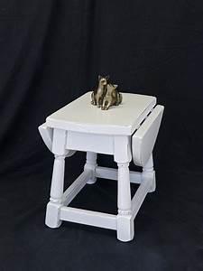 Beistelltisch Weiß Eiche : beistelltisch gateleg tisch telefontisch eiche shabby chic in wei 8228 tische beistelltische ~ Indierocktalk.com Haus und Dekorationen