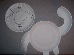 dinosaurs   paper plates