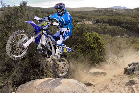 Riding The Yamaha Yz450fx Off-road Racer