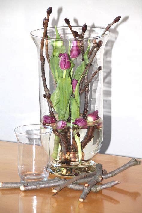 bildergebnis fuer tulpen  glas tulpen deko fruehling