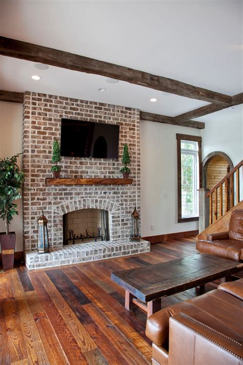 fireplace reface refacing a brick fireplace living room traditional with