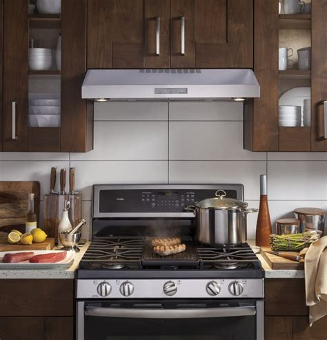 Range Cabinet by Ge Pvx7300sjss 30 Inch Cabinet Range With 400