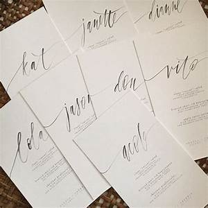 317 best calligraphy images on pinterest hand type With calligraphy wedding invitations toronto