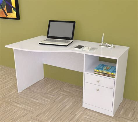 cheap white desk with drawers inval white modern curved top desk contemporary desks