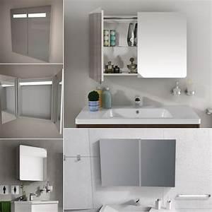 Armoire De Toilette Meuble De Salle De Bain Armoire