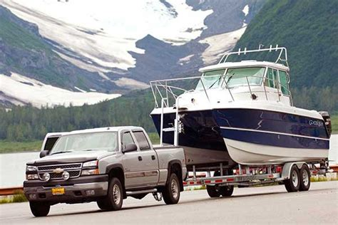 Towing A Boat Into The Us by Setting Up A Hitch For The Tow Trailering