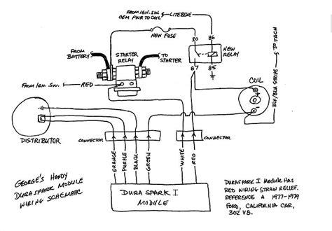 installing ford duraspark module glenn c the de tomaso