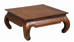 Table Basse Pied Bois : meubles salon table basse sur ~ Teatrodelosmanantiales.com Idées de Décoration