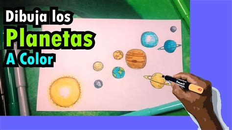 aprende  dibujar el sistema solar  colores solar system youtube