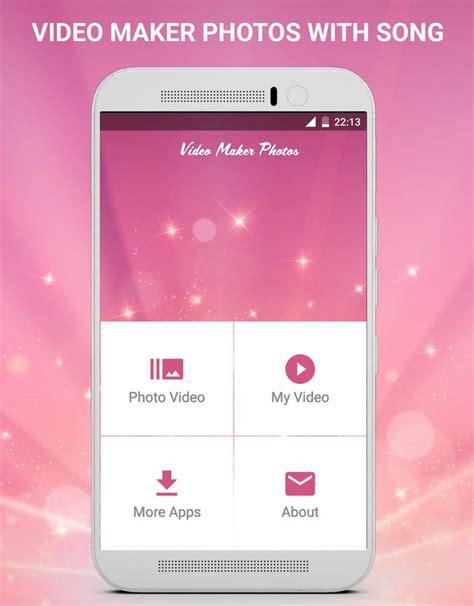Aplikasi edit video android untuk instagram atau sosial media lain yang bisa kamu coba salah satunya ada filmorago. Video Maker Photos With Song APK Download - Free Video ...