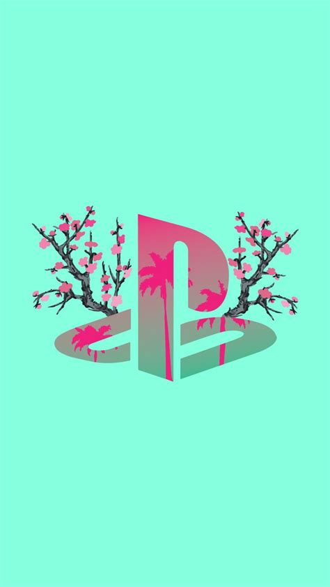 Use images for your pc, laptop or phone. PLAYSTATION LOGO ART in 2020 | Vaporwave wallpaper, Pop ...
