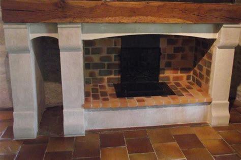 insert cuisine cheminée ouverte avec récupérateur foyer berman feu