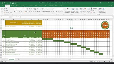 create gantt chart in excel gantt chart excel template