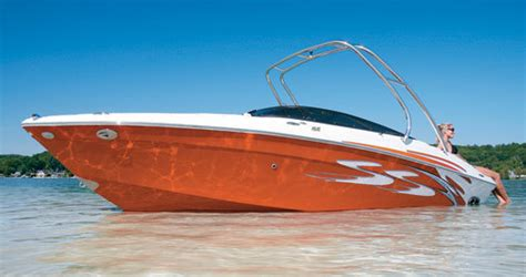 Orange Boat by Research Four Winns Boats H210 Ss On Iboats