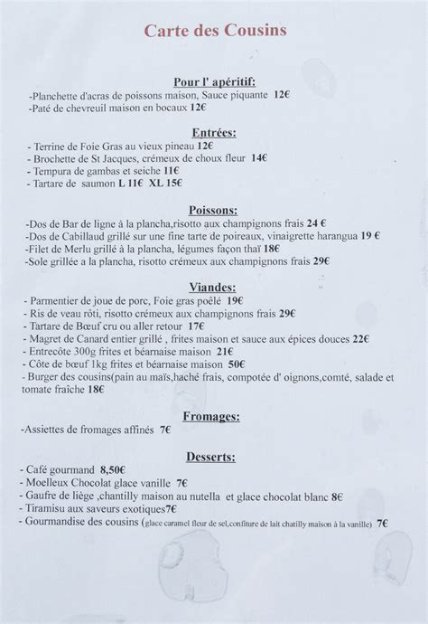 carte de dessert restaurant file restaurant l atelier des cousins carte 2013 1 jpg wikimedia commons