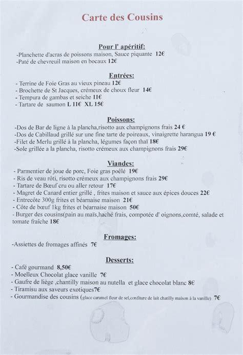 file restaurant l 39 atelier des cousins carte 2013 1 jpg