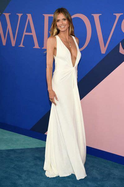 Heidi Klum Cfda Fashion Awards Arrivals What