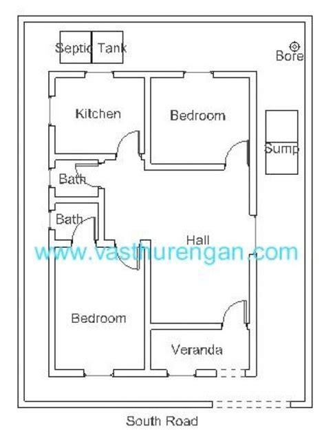 vastu plan  south facing plot jpg  vastu