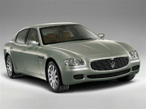 Maserati Quattroporte 2005 by 2005 Maserati Quattroporte Specs Safety Rating Mpg