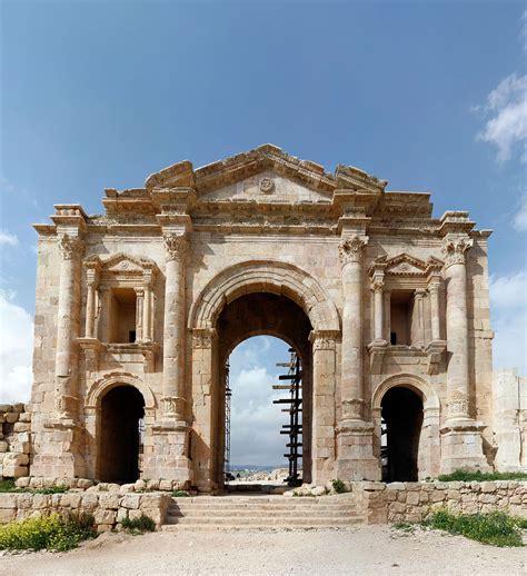 Arch Of Hadrian (jerash) Wikipedia