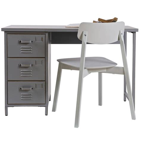 retro style desk l vintage style metal desk by idyll home